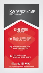 Simple vertical keller williams business card template design creative vertical keller williams business card template design pronofoot35fo Gallery