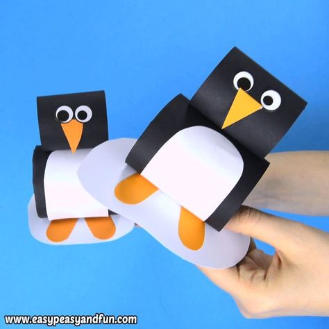 You just have to add this paper penguin craft for kids to your arctic animals crafting session as it's just so much fun and super easy.