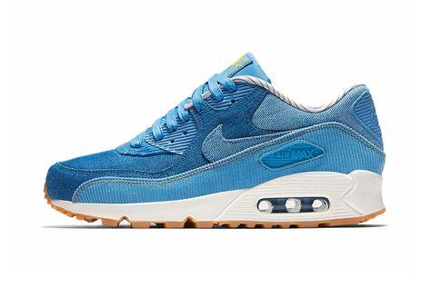 Nike Women's Air Max 90 Indigo Gum 881105 401 |