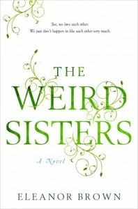 Book Review: The Weird Sisters by Eleanor Brown via pinkheelspinktruck.com