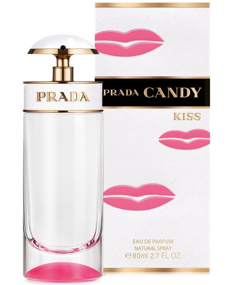 Prada Candy Kiss: a warm, pleasant blend of cotton, orange blossom and vanilla