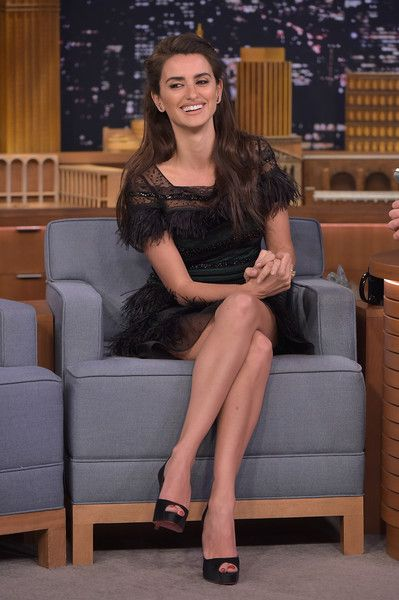 "Penelope Cruz Visits ""The Tonight Show Starring Jimmy Fallon"" at NBC Studios on February 10, 2016 in New York City."