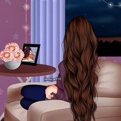 شعركم طويل لو قصير Fashionyista صور كارتونية للحلوات منشن لصديقاتك تشوفهن معك خلفي Cartoon Girl Images Lovely Girl Image Digital Art Girl