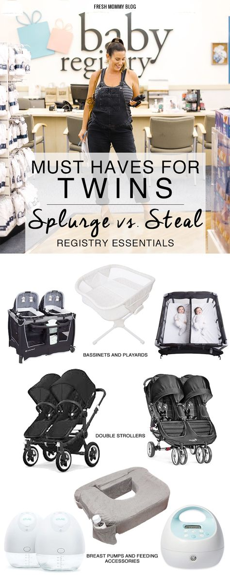 Baby Registry Must-Haves for Twins | Motherhood | Fresh Mommy Blog