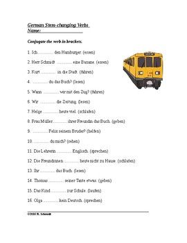 25++ Stem changing verbs worksheet Info