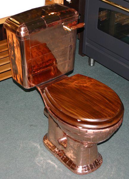High Grade Copper Bathroom Accessories Set Black Rubble Painting - Copper bathroom accessories sets for bathroom decor ideas