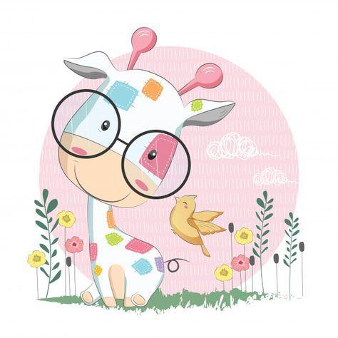 Más De Un Millón De Vectores Gratis Psd Fotos E Iconos Gratis Todos Dibujo Animales Infantiles Ilustraciones De Dibujos Animados Dibujos De Animales Tiernos