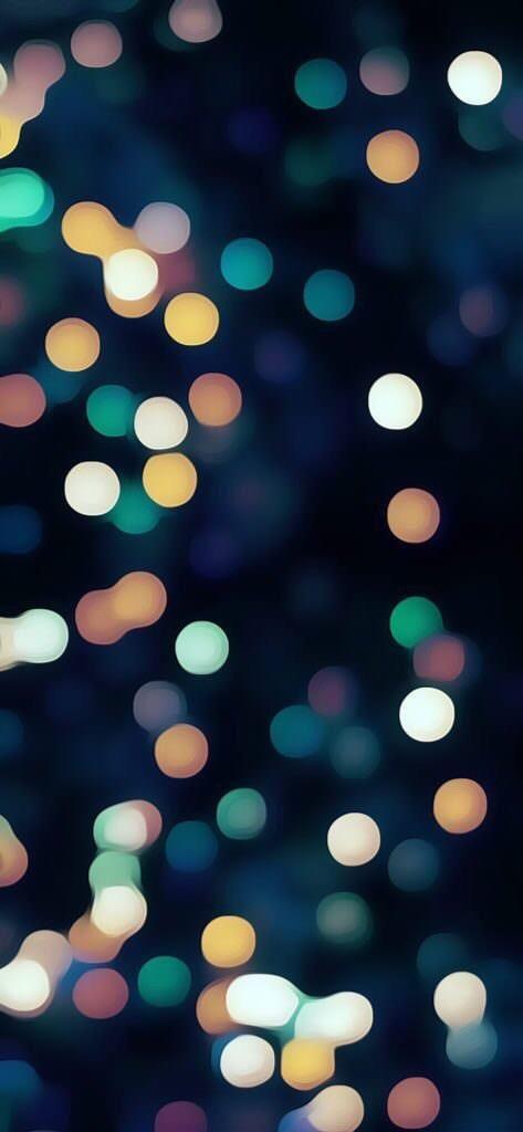 Dots Of Light Christmas Phone Wallpaper Wallpaper Iphone