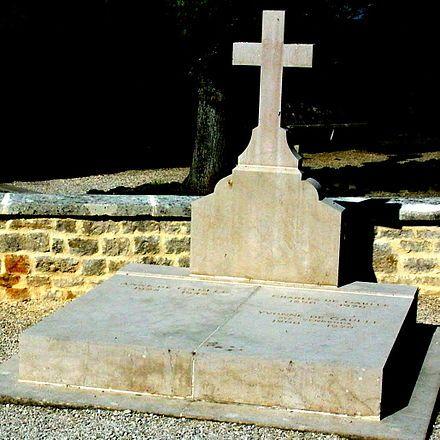 Grave of Charles de Gaulle at Colombey-les-Deux-Églises