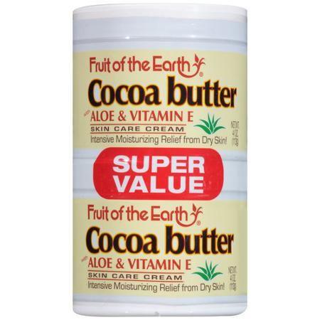 کرم کره کاکائو Fruit Of The Earth Skin Care Cream Homemade Wrinkle Cream Cream For Dry Skin