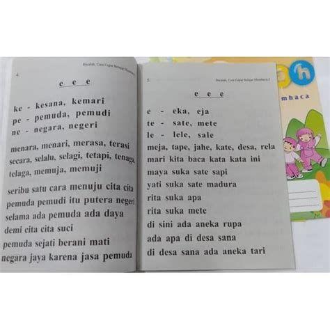 Pin Di Belajar Membaca Dan Menulis