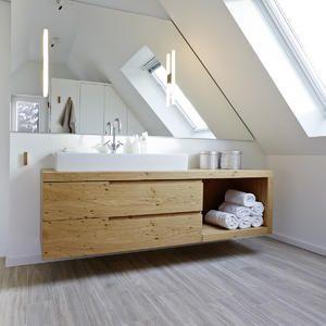 Waschtischunterschrank Holz waschtisch holz modern dekoration ideen