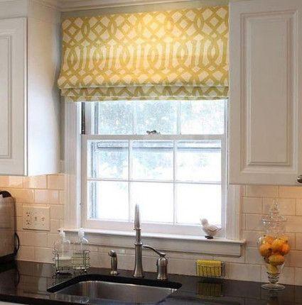 23 Ideas Kitchen Window Curtains Cafe Roman Shades For 2019 Kitchen Window Curtains Modern Kitchen Curtains Kitchen Window Coverings