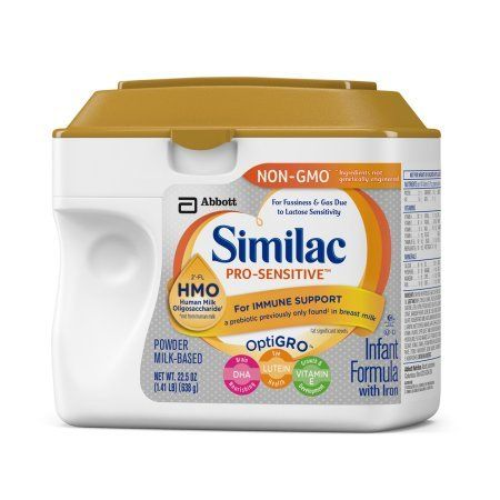 Similac Pro Sensitive Infant Formula With 2 Fl Hmo For Immune Support 22 5 Ounces Pack Of 6 Lid Color Varies Baby Formula Baby Formula Milk Best Baby Formula