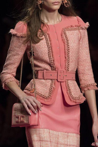 Elisabetta Franchi at Milan Fashion Week Spring 2019 - Details Runway Photos Source by shopoventure Ideas spring