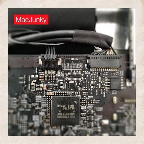 Guess what's written inside of an iMac 27″