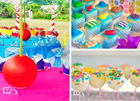 Candy Crush Birthday Party with TONS of Cute Ideas via Kara's Party Ideas | Kara'sPartyIdeas.com #candy #crush #birthday #party #supplies #ideas #buffet