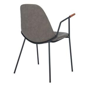 17++ Emerson metal dark brown retro dining chairs set of 2 Trending
