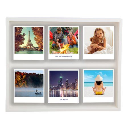 Home Shadow Box 10 Picture Photo Frame