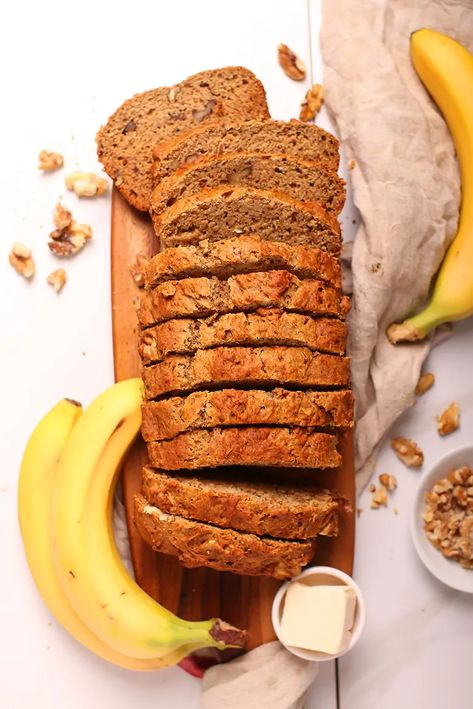 Photo of Healthy Vegan Banana Bread