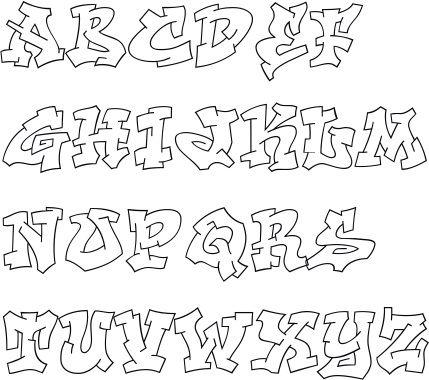 Graffiti Schrift Abc Graffiti Buchstaben A Z 32 Graffiti Buchstaben Graffiti Schrift Graffiti Schriftart