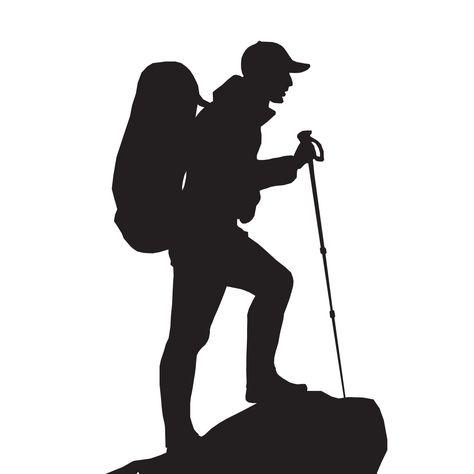 туристы рисунок вектор независимо