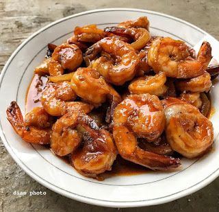Resep Udang Asam Manis Pedas By Dianayupuspitasari Resep Udang Resep Masakan Resep Masakan Indonesia
