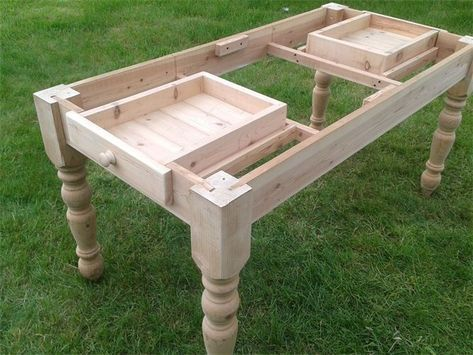 Image Result For Farmhouse Table Drawers Farmhouse Table Farmhouse Dining Table Dining Table With Drawers