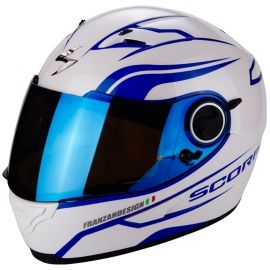 / Scorpion Exo 710/ Air Furio Azul / Cascos Moto/  SCORPION/