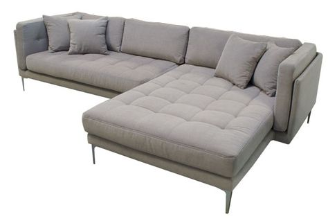 Ecksofa mit schlaffunktion grau  19 best Moderne Ecksofa images on Pinterest | Sofas, Big sofas and ...