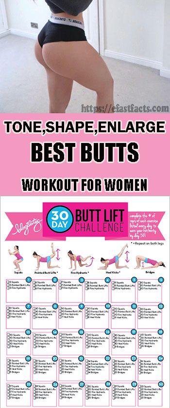 Tone Shape Enlarge Best Butt Workout For Women Booty Work
