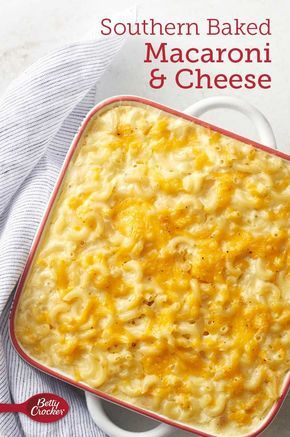Southern Baked Macaroni And Cheese Recipe With Images