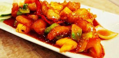 Tutorial Kakap Merah Fillet Tepung Asam Manis Resep Ikan Resep Resep Masakan Asia