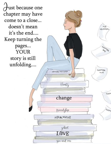 Just becomes one chapter comes to a close - Heather Stillufsen - Motivational Quotes - Heather Stillufsen Quotes