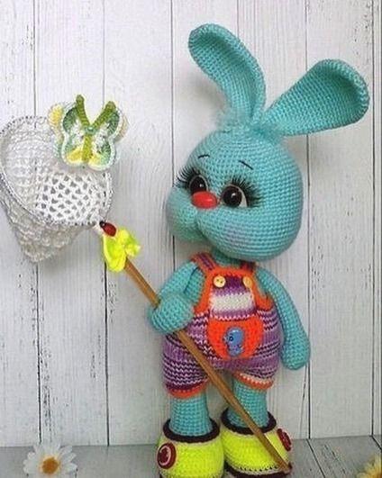 Do you like new look of Pretty Bunny? :)... - Amigurumi Today ... | 531x424