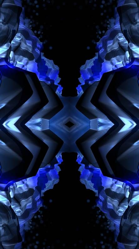 Abstract Blue Amoled Abstract Backgrounds Black Hd Wallpaper Abstract
