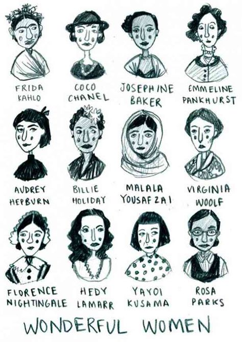 All of these women kicked ass and took names. Let their histories inspire you to change your life and the lives of others.