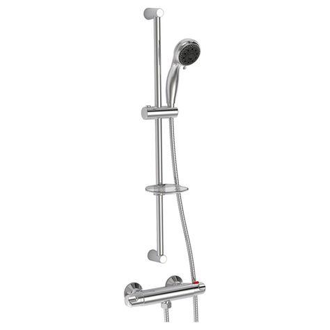 jalo - shower column and hand shower kit-9002-00-cc - rona