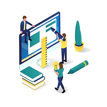 People Are Working Together In Graphic Design 3d Isometric Illustration Perfect For Website And Apps Image Education Clipart People Working Png And Vector Wi Isometric Illustration Color Vector Icon Illustration
