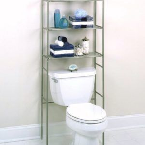 Pin By Kristen Saul On Around The House Floating Shelves Diy Shelves Above Toilet Toilet Shelves