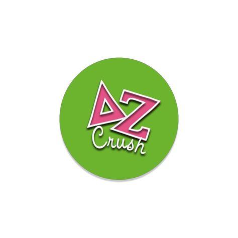"Delta Zeta Button . For The Guys . Crush . 2.25"""