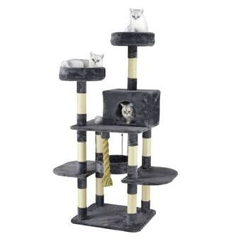 59 Cat Tree With Images Cat Tree Condo Cat Tree Pets