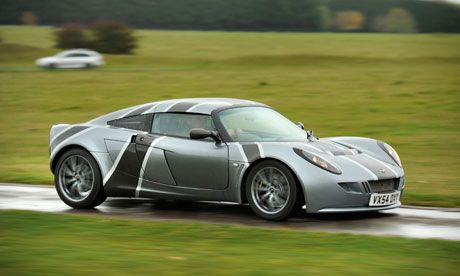 'Nemesis' breaks electric car land speed record  Modified Lotus Exige reaches speed of 148mph at Elvington Airfield in North Yorkshire UK.    By Adam Vaughan