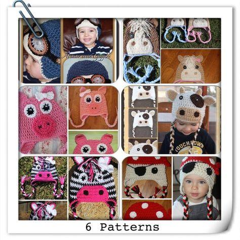 6 Crochet Beanie Patterns