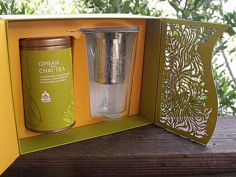 Interview: Daniele Monti on Teavana® Oprah Chai Tea | Box packaging