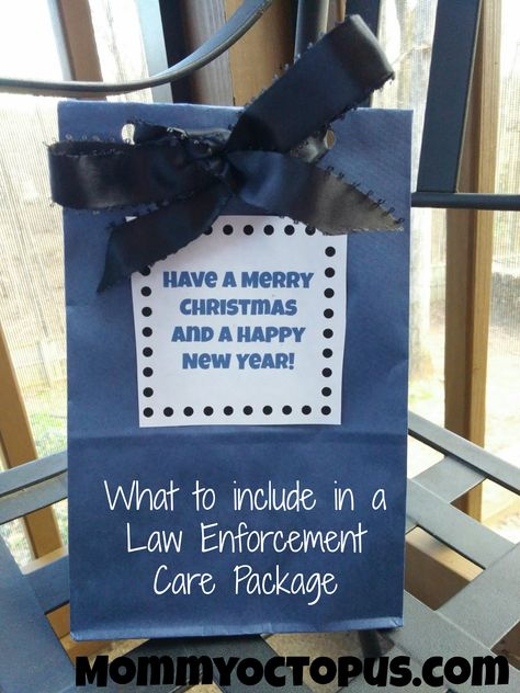 What to include in a Law Enforcement Care Package