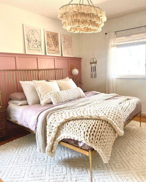 Pink Boho Room