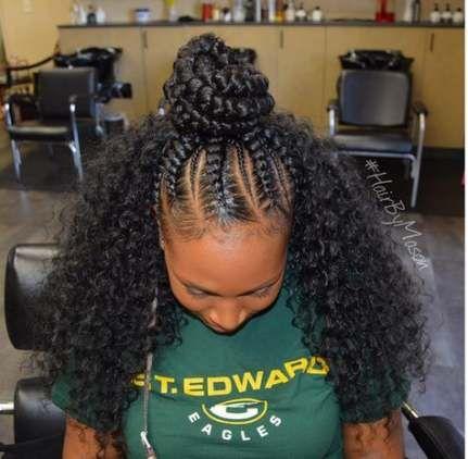 20 Ideas Hairstyles Weave Half Up Half Down Braids With Weave Half Up Half Down Hair Sew In Hairstyles