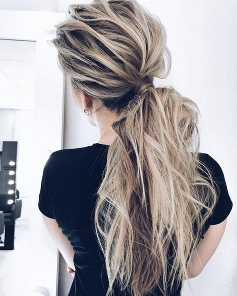 10 Creative Ponytail Hairstyles for Long Hair, Summer