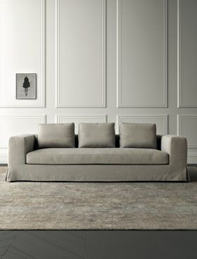Hamptons Sofa Lepere Sofa Contemporary Sofa Sectional Sofa